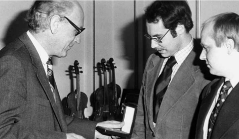 6th International Henryk Wieniawski  Violin Making Competition (1981)