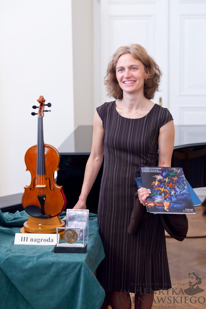 Ulrike Dederer (Germany/Switzerland) - Third Prize Winner of 12th International Henryk Wieniawski Violin Making Competition (2011)