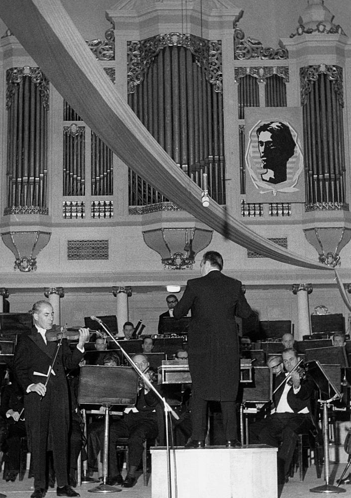 3. Międzynarodowy Konkurs Lutniczy im. Henryka Wieniawskiego (1967) w fotografii