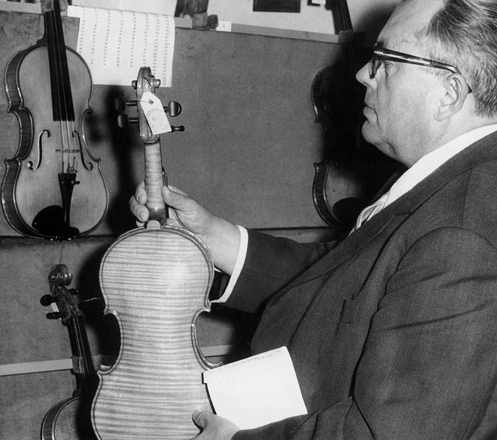 2. Międzynarodowy Konkurs Lutniczy im. Henryka Wieniawskiego (1962) w fotografii