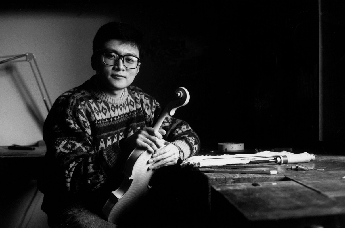 Gao Tong Tong from China, winner of the fourth prize and a bronze medal.