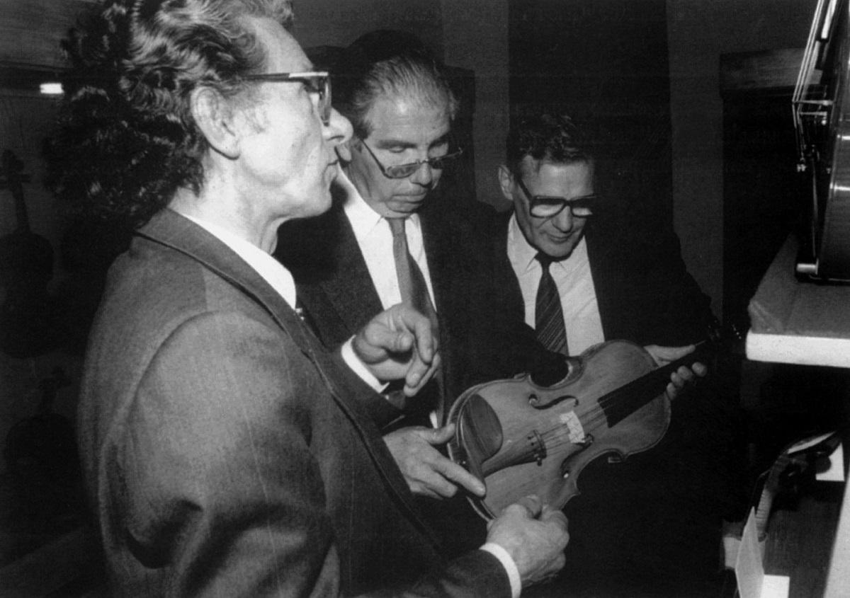 Gio Batta Morassi, Antonio Capela, Anatolij Koczergin.