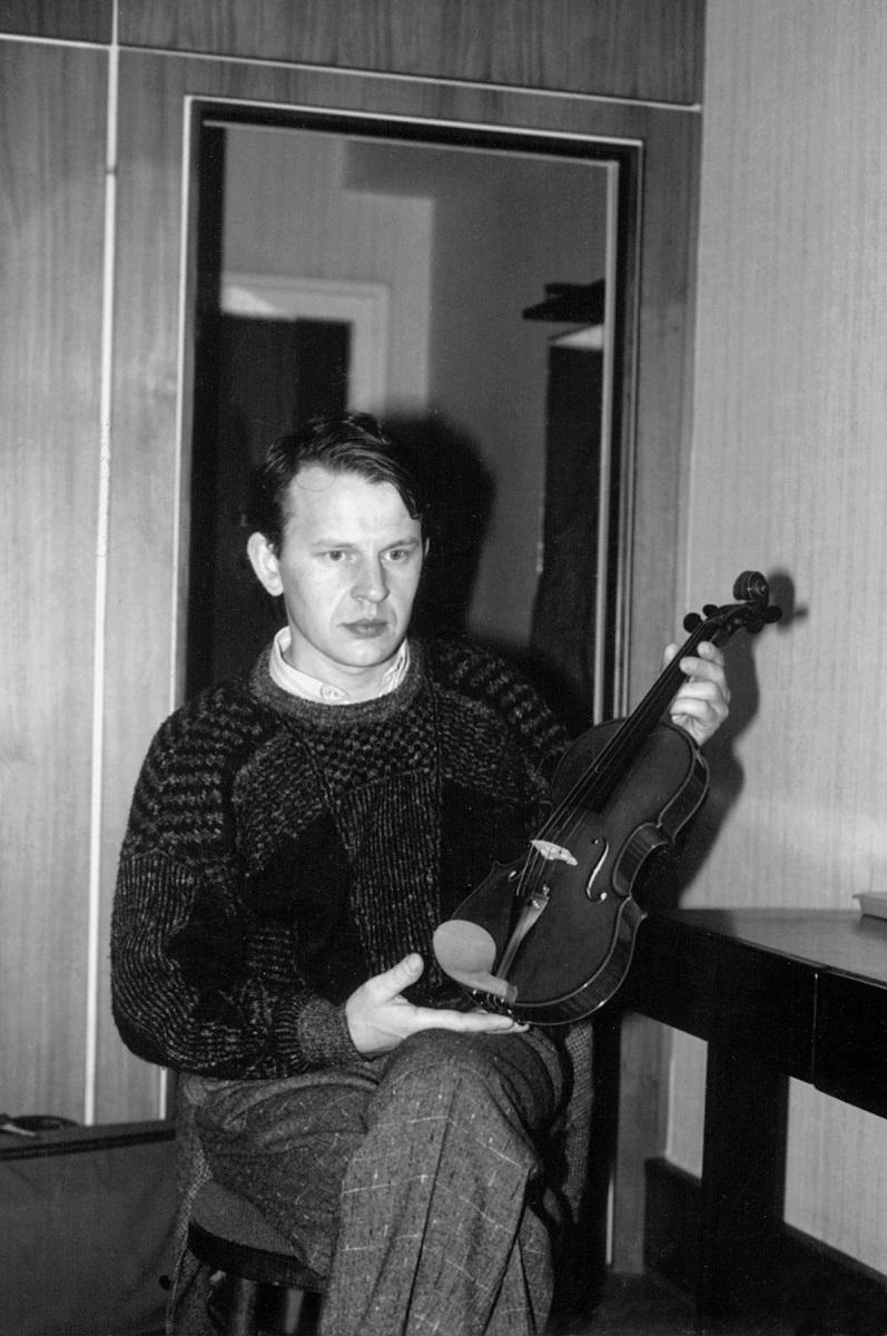 8. Międzynarodowy Konkurs Lutniczy im. H. Wieniawskiego (1991) w fotografii