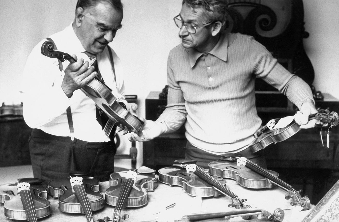 5. Międzynarodowy Konkurs Lutniczy im. Henryka Wieniawskiego (1977) w fotografii