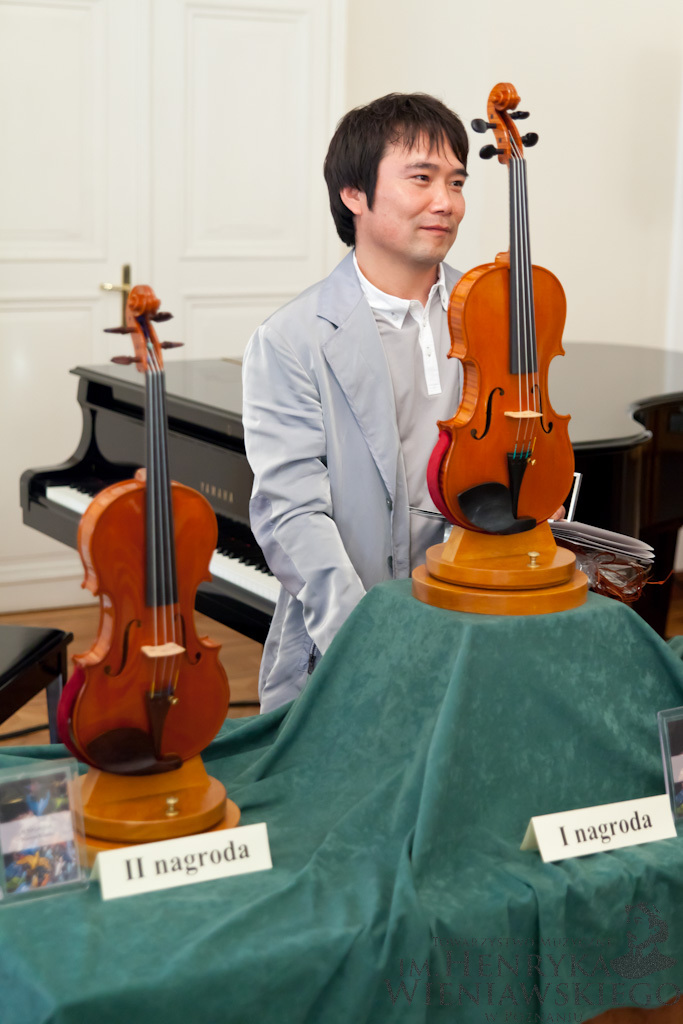 Min Sung Kim (South Korea) – 1st Prize Winner of 12th International Henryk Wieniawski Violin Making Competition (2011)