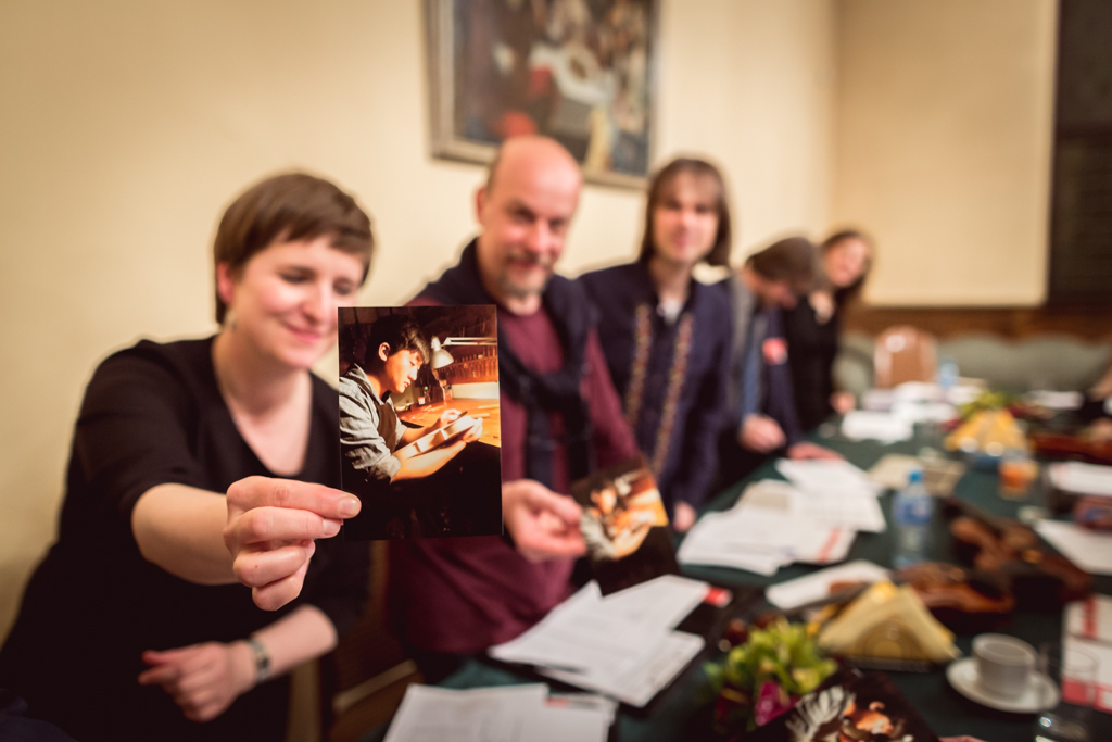 Photo gallery - final jury meeting, opening envelopes containing names of laureates - 13th International Henryk Wieniawski Violin Making Competition (12.05.2016)