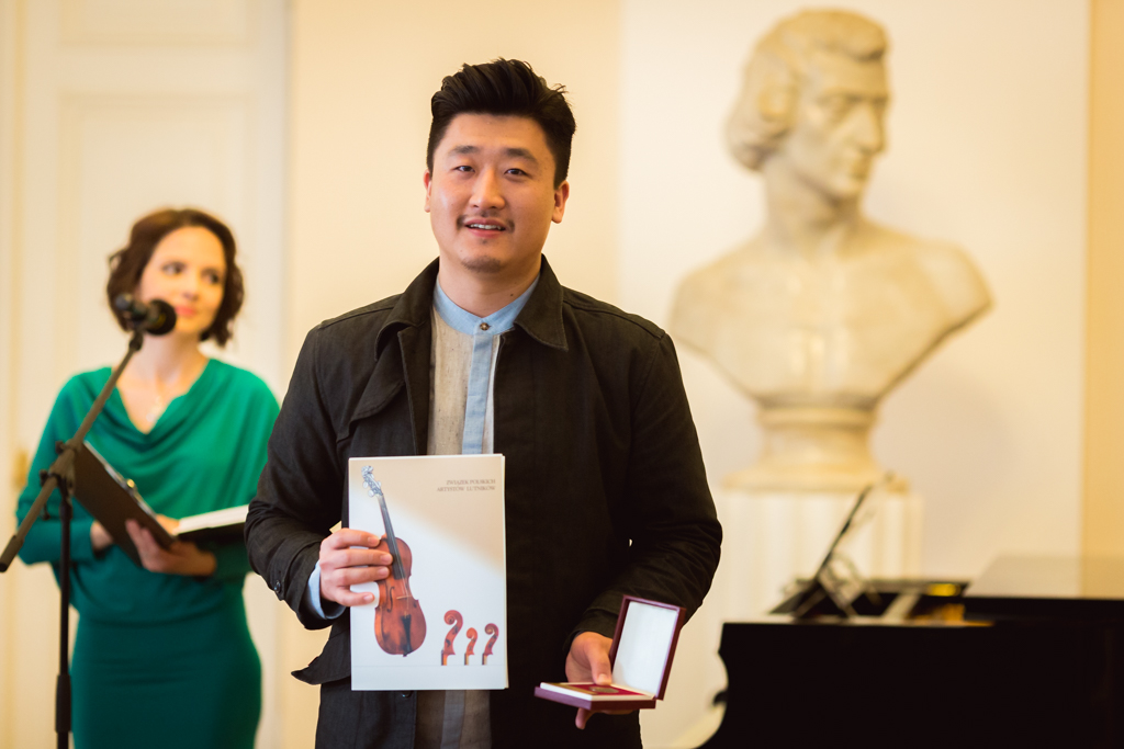 Ji Hwan Park (South Korea) - 1st and 2nd Prize Winner of 13th International Henryk Wieniawski Violin Making Competition (2016)