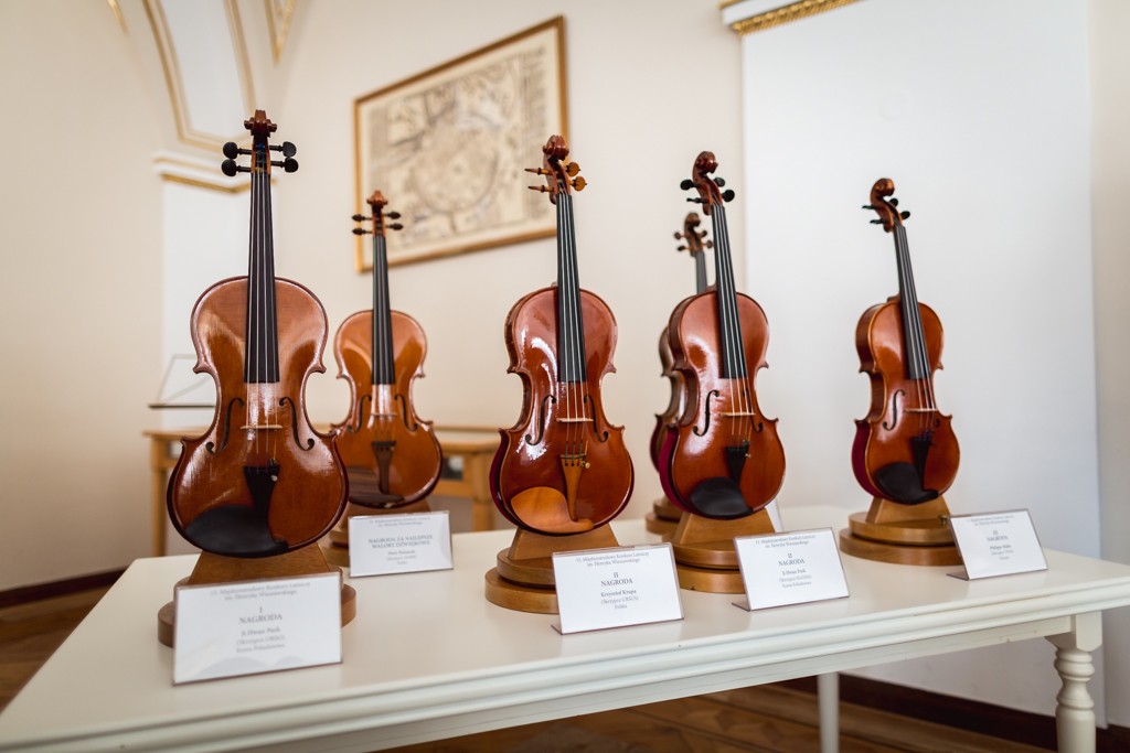 We publish the results of 13th International Henryk Wieniawski Violin Making Competition (2016)
