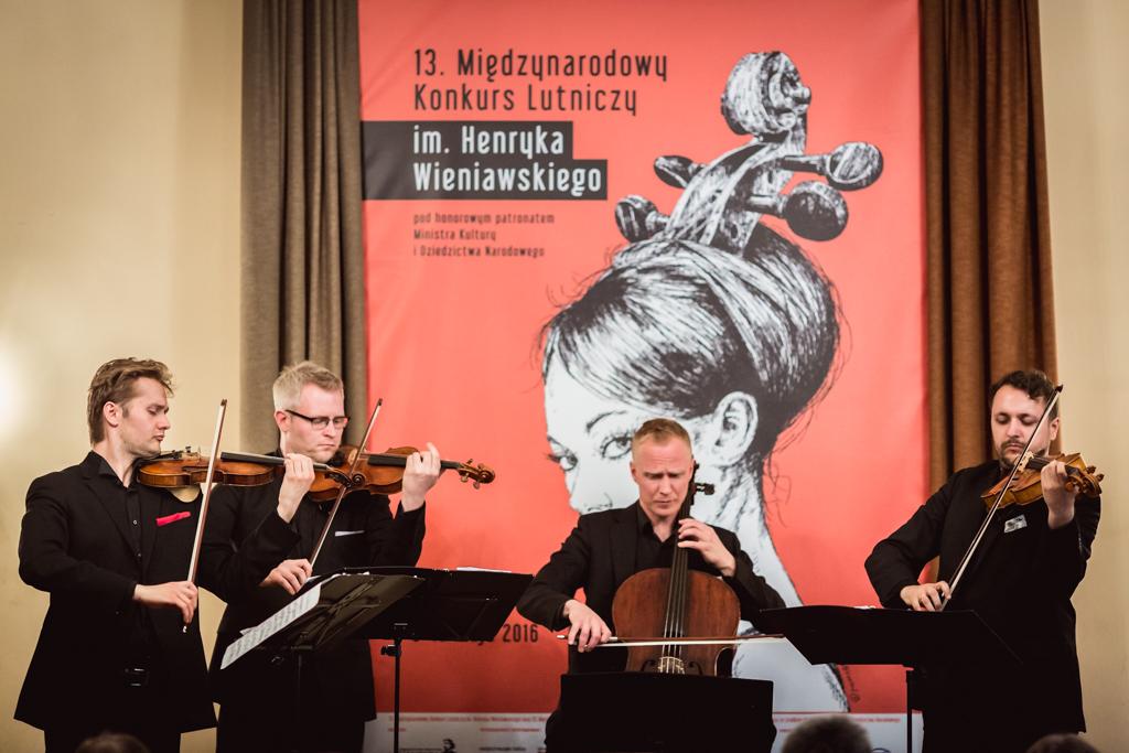 Galeria - inauguracja, pierwsze posiedzenie jury, pierwszy etap - 13. Międzynarodowy Konkurs Lutniczy im. Henryka Wieniawskiego (08.05.2016)