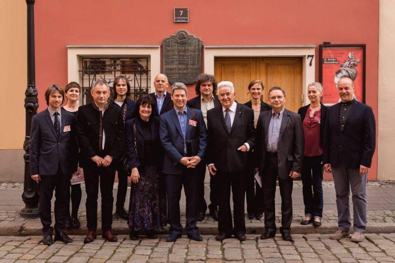 Od lewej: Jan Spidlen, Magdalena Wiśniewska (sekretarz Jury), Wojciech Łukasz, Dima Tkachenko, Eszter Perenyi, Tadeusz Słodyczka, Raymond Schryer, Marek Pielaszek, Andrzej Wituski, Ulrike Dederer, Mariusz Derewecki, Andrea Frandsen, Dante Fulvio Lazzari.
