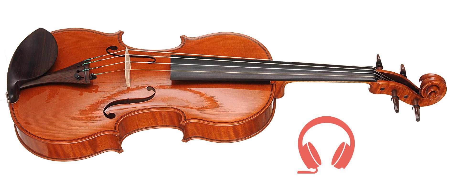 Gonzalo Bayolo (Spain) - Finalist, violin Angel | binaural audio recording, chamber hall | 13th International H. Wieniawski Violin Making Competition (2016)