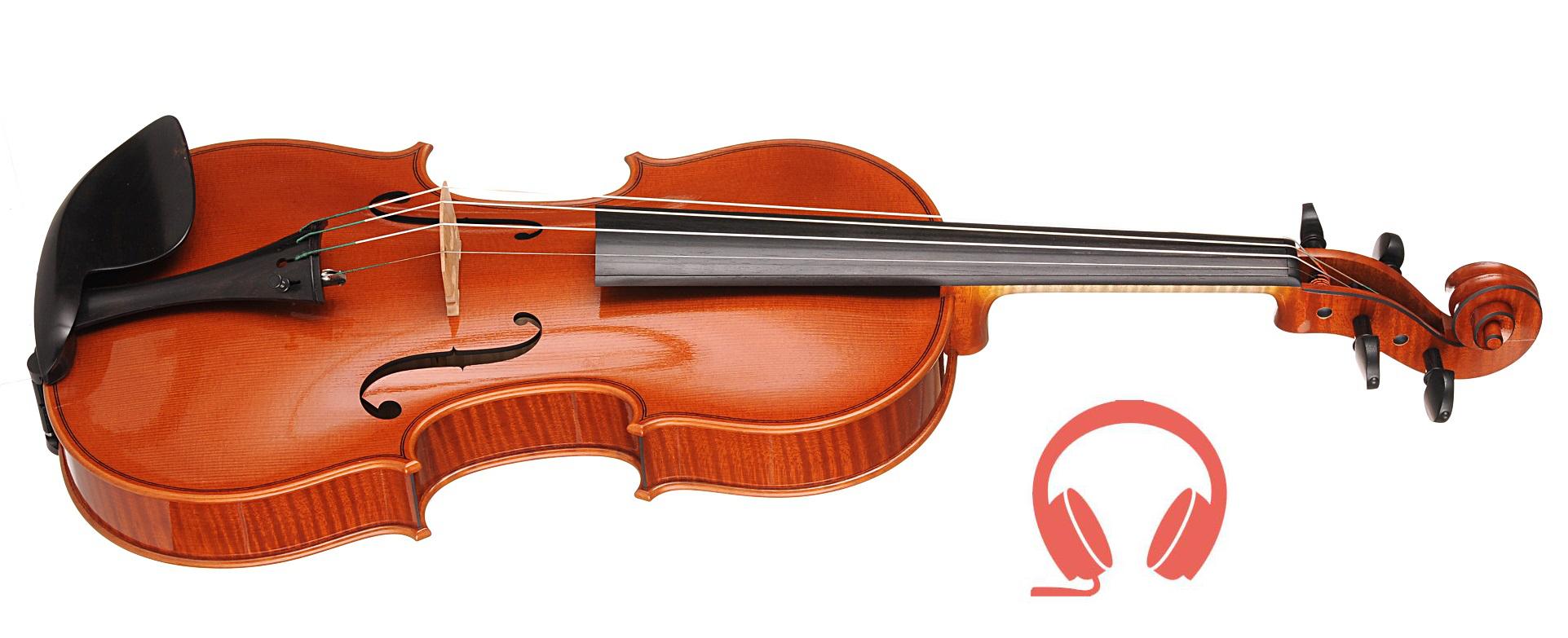 Debora Scianamé (Italy) - Finalist, violin No Hero | binaural audio recording, chamber hall | 13th International H. Wieniawski Violin Making Competition (2016)