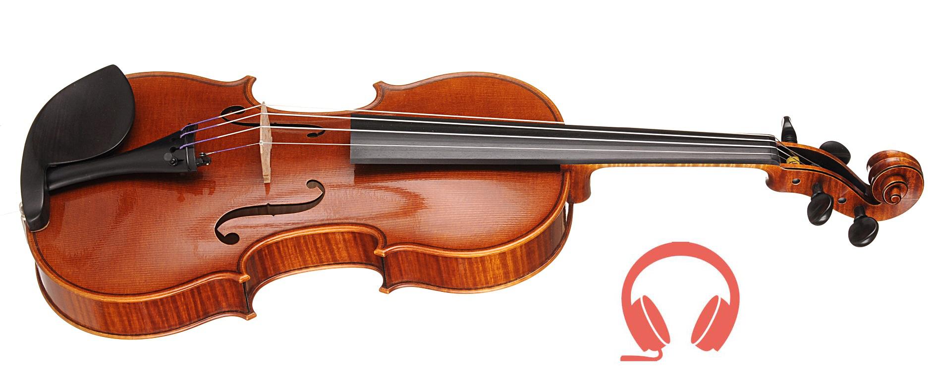Philippe Mahu (Francja) - III nagroda, skrzypce Tina | nagranie audio binauralne, sala kameralna | 13. Międzynarodowy Konkurs Lutniczy im. H. Wieniawskiego (2016)