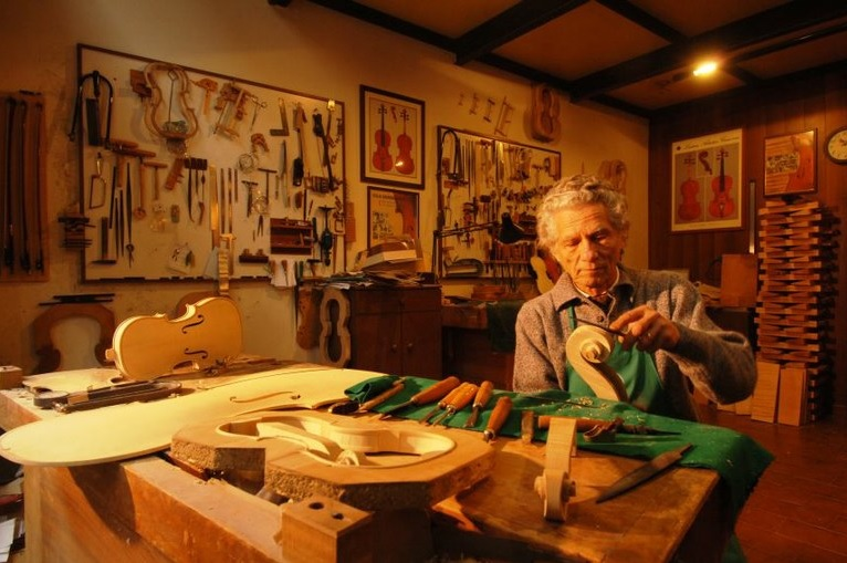 World famous Italian violin maker Giovanni Battista Morassi died in Cremona (27.02.2018)