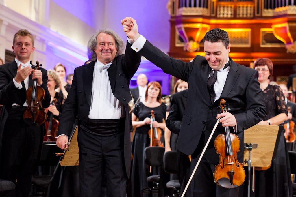 Maxim Vengerov gra Koncert skrzypcowy D-dur op. 61 L. van Beethovena i Medytację J. Masseneta (14. Konkurs Wieniawskiego, 2011)