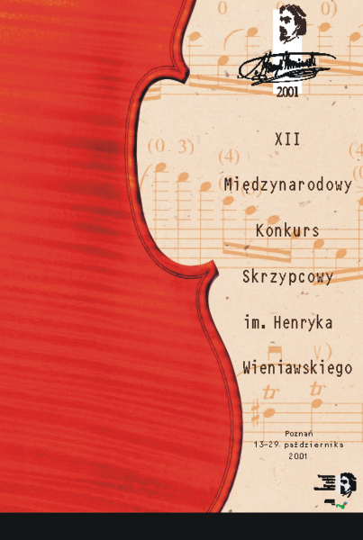12th International Henryk Wieniawski Violin Competition (2001)