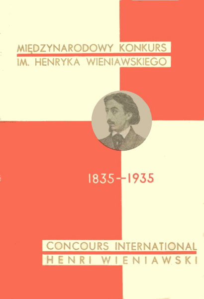 1st International Henryk Wieniawski Violin Competition (1935)
