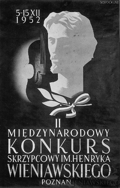 2nd International Henryk Wieniawski Violin Competition (1952)