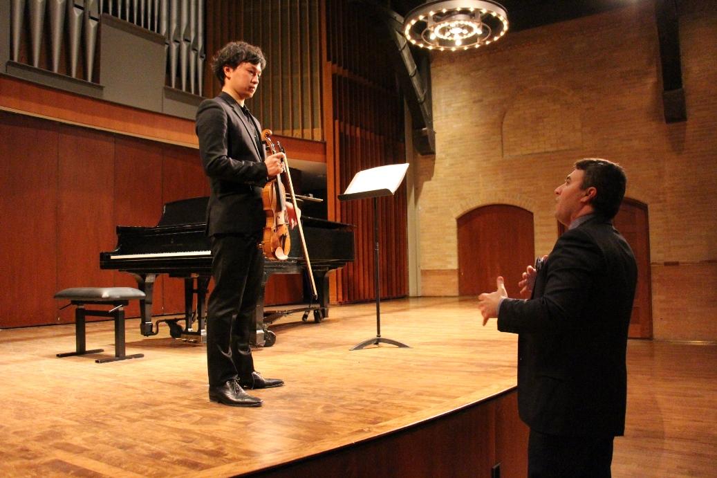 Toronto, 11.02.2016. Preliminary selection for 15th International Henryk Wieniawski Violin Competition / phot. Alex Toskov