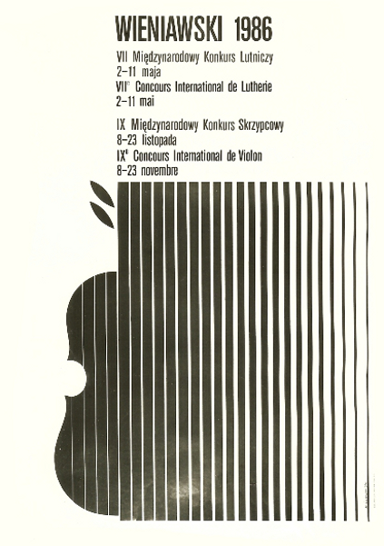 9th International Henryk Wieniawski Violin Competition (1986)