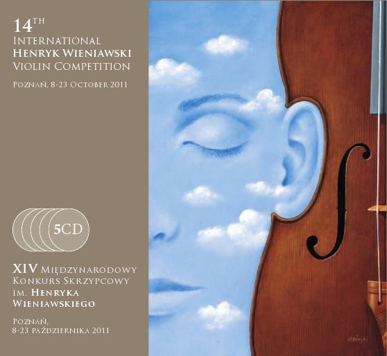 5 CD: Kronika dźwiękowa 14. Międzynarodowego Konkursu Skrzypcowego im. Henryka Wieniawskiego (2011)