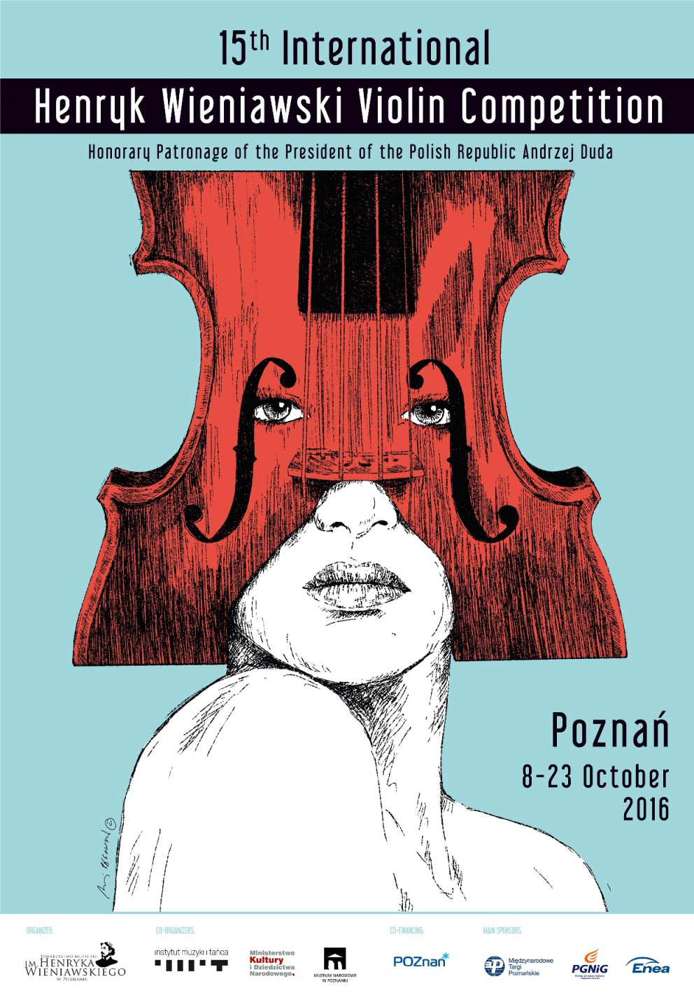 Jury of the 15th International Henryk Wieniawski Violin Competition (Poznań, 8-23.10.2016)