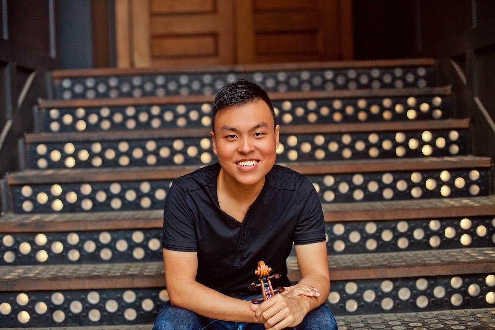 Luke Hsu (USA) - Laureat czwartej nagrody 15. Międzynarodowego Konkursu Skrzypcowego im. Henryka Wieniawskiego (2016)