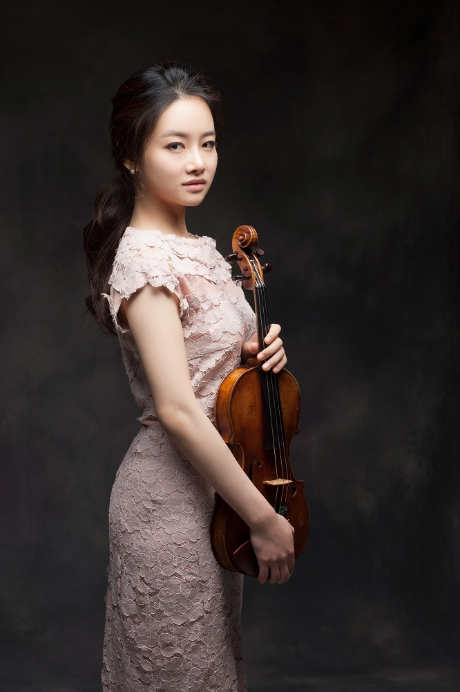 Bomsori Kim (Korea) - Laureatka drugiej nagrody ex aequo 15. Międzynarodowego Konkursu Skrzypcowego im. Henryka Wieniawskiego (2016)