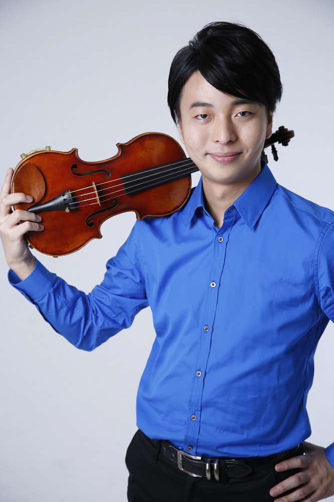 Seiji Okamoto (Japan) - 2nd Prize Winner (shared) of 15th International Henryk Wieniawski Violin Competition (2016)