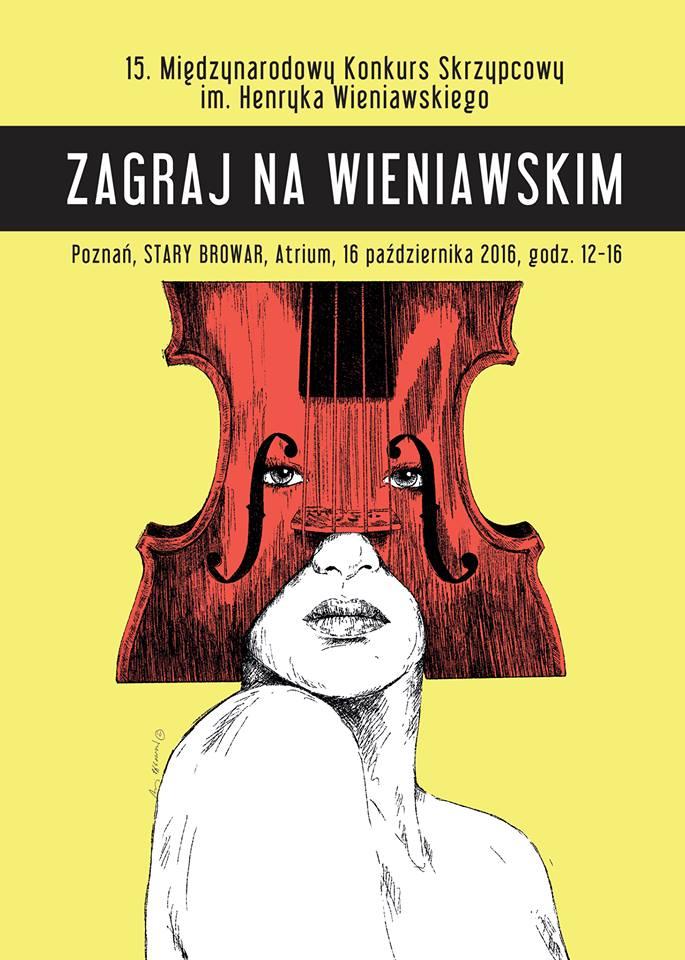 ZAGRAJ NA WIENIAWSKIM, czyli maraton skrzypcowy w Starym Browarze w Poznaniu (16.10.2016)