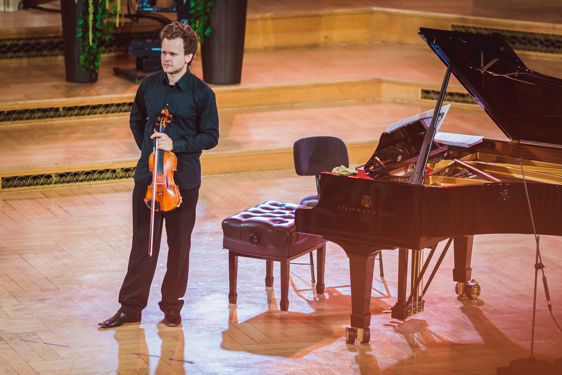 Arsenis Selalmazidis (Russia/Greece) - Stage 1 - 15th International H. Wieniawski Violin Competition STEREO