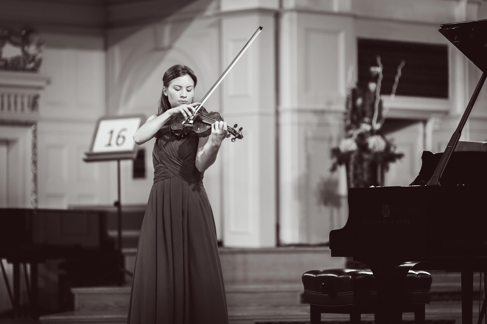 Celina Kotz (Poland) - Stage 1 - 15th International H. Wieniawski Violin Competition BINAURAL | use headphones