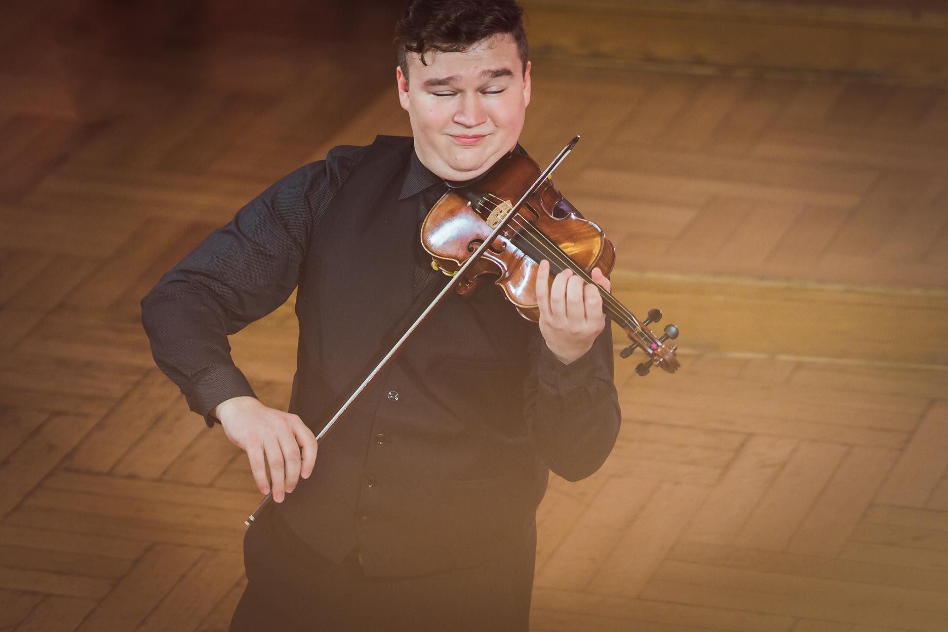 Vasyl Zatsikha (Ukraina) - Etap 1 - 15. Międzynarodowy Konkurs Skrzypcowy im. H. Wieniawskiego STEREO