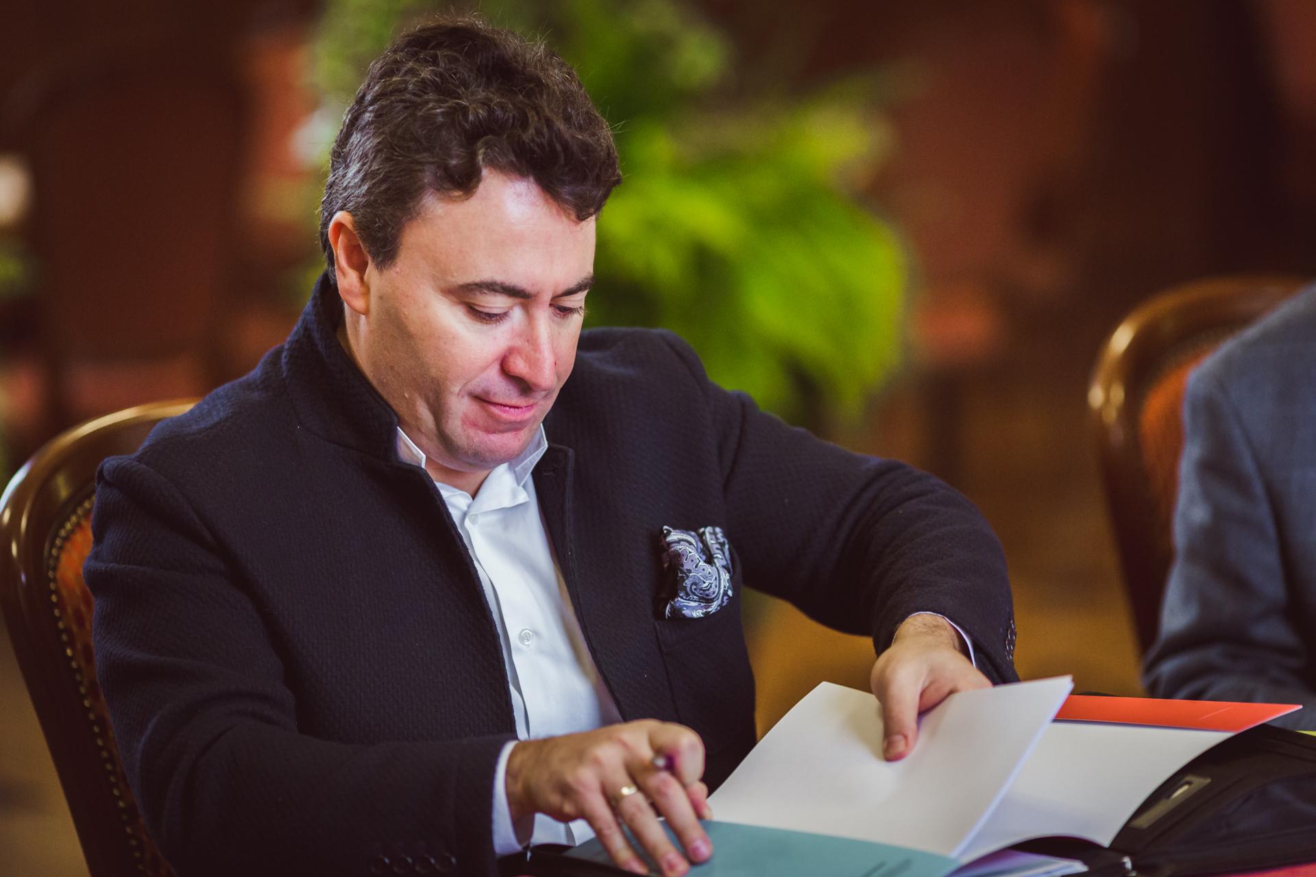RR Studio. Maxim Vengerov - Przewodniczący Jury