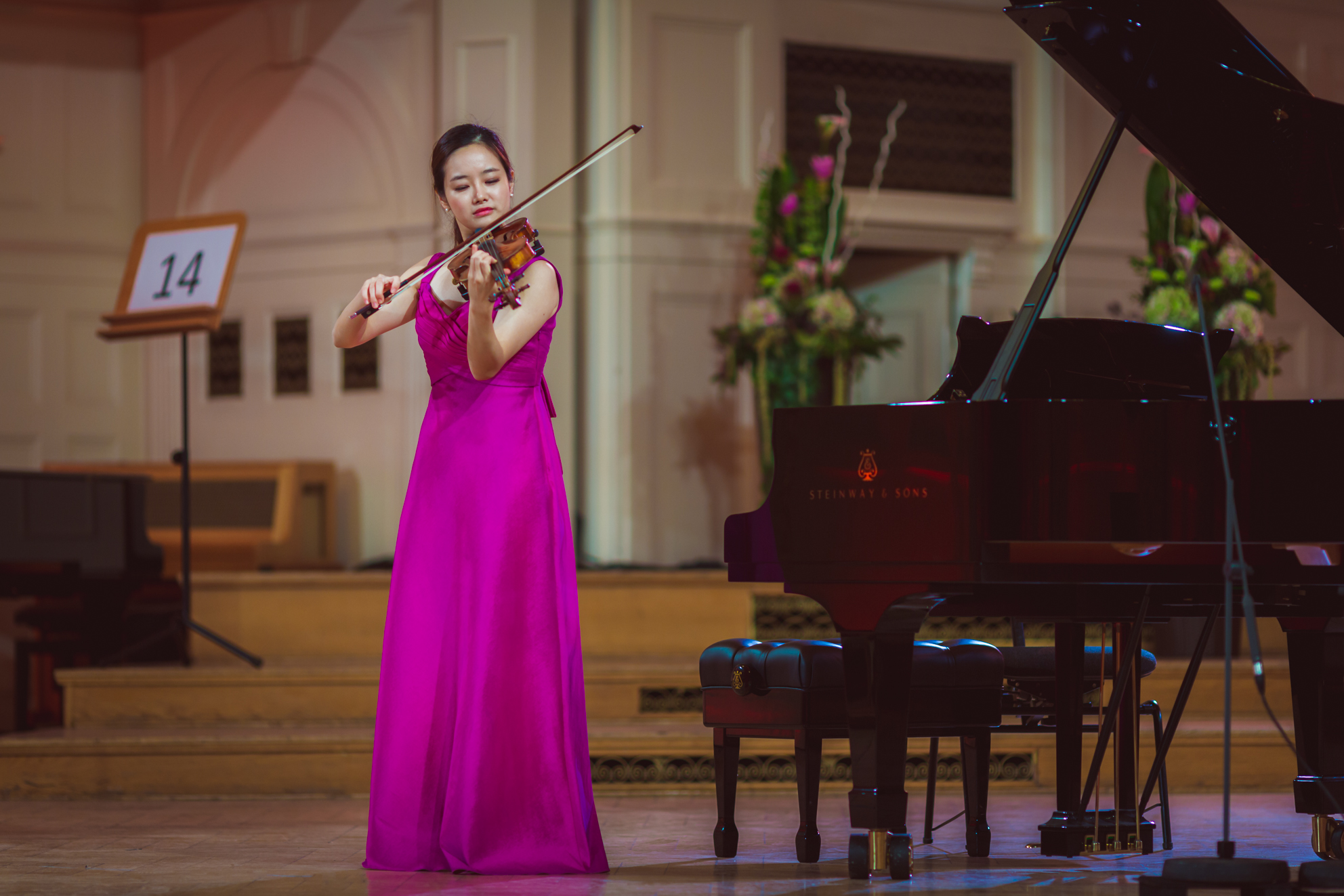 Bomsori Kim (Korea) - Stage 1 - 15th International H. Wieniawski Violin Competition STEREO