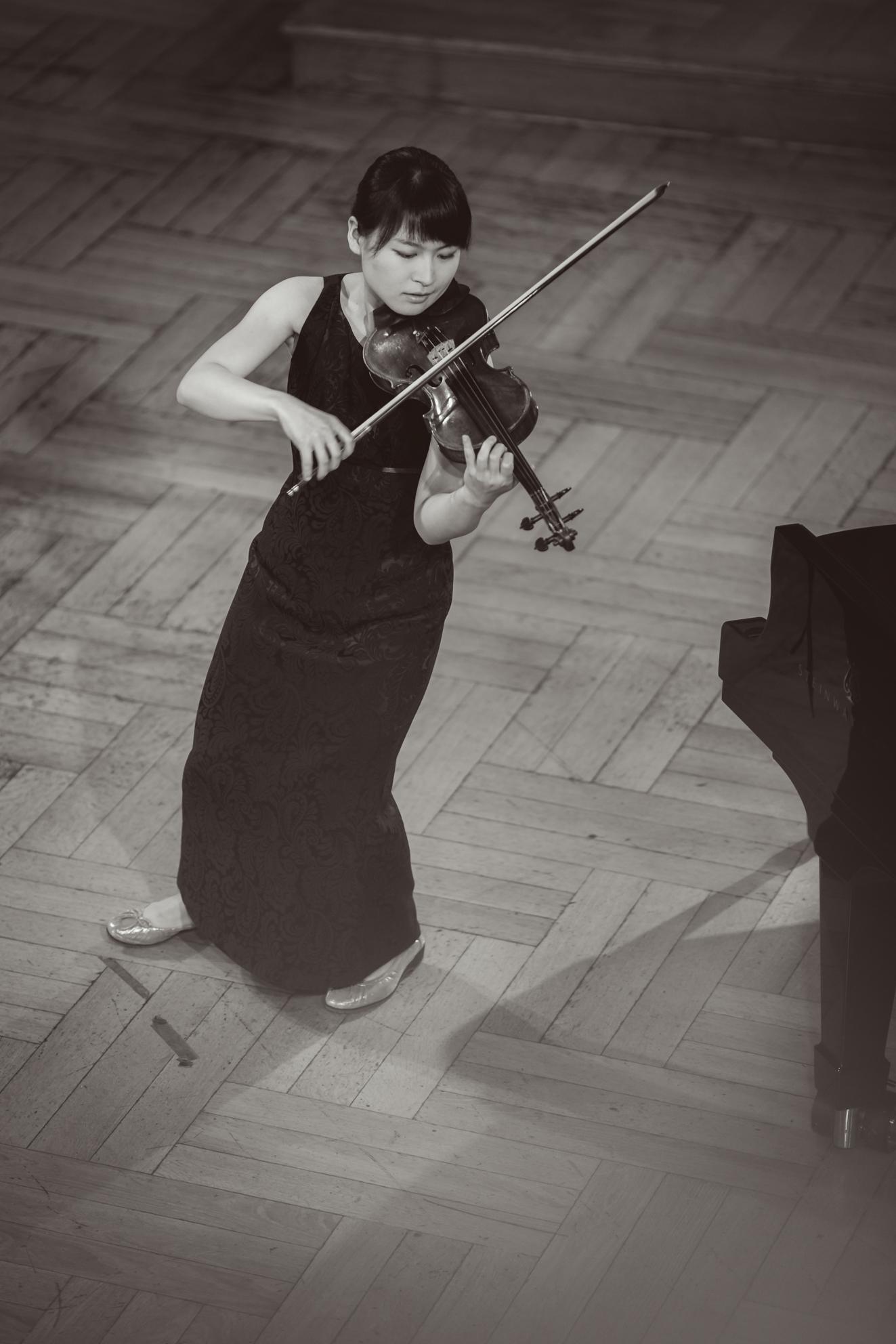 Haruka Nagao (Japonia) - Etap 1 - 15. Międzynarodowy Konkurs Skrzypcowy im. H. Wieniawskiego BINAURAL | na słuchawki