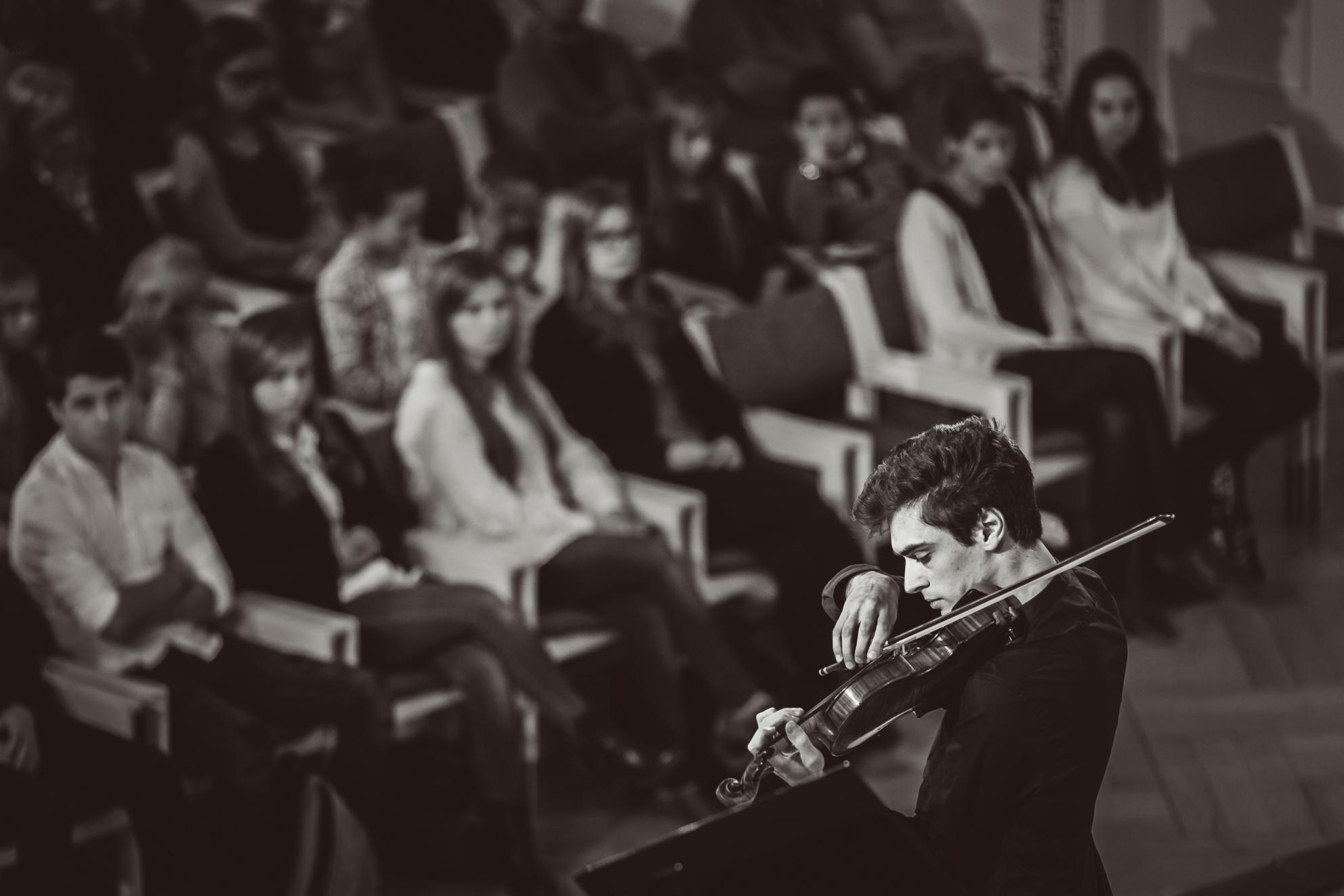 Semion Gurevich (Rosja) - Etap 1 - 15. Międzynarodowy Konkurs Skrzypcowy im. H. Wieniawskiego BINAURAL   na słuchawki