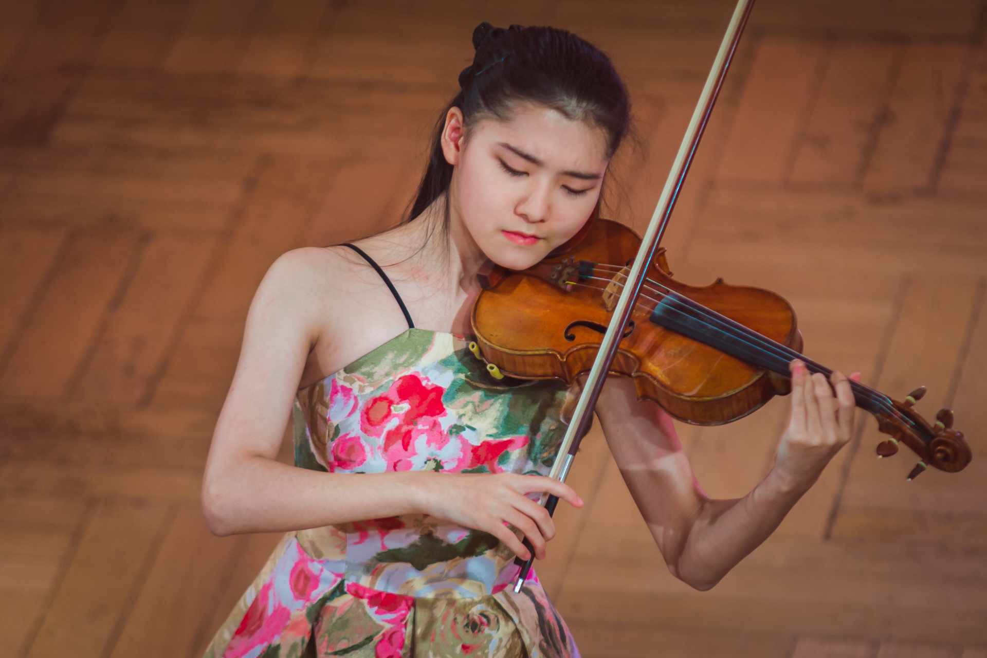 Mone Hattori (Japan) - Stage 2 - 15th International H. Wieniawski Violin Competition STEREO