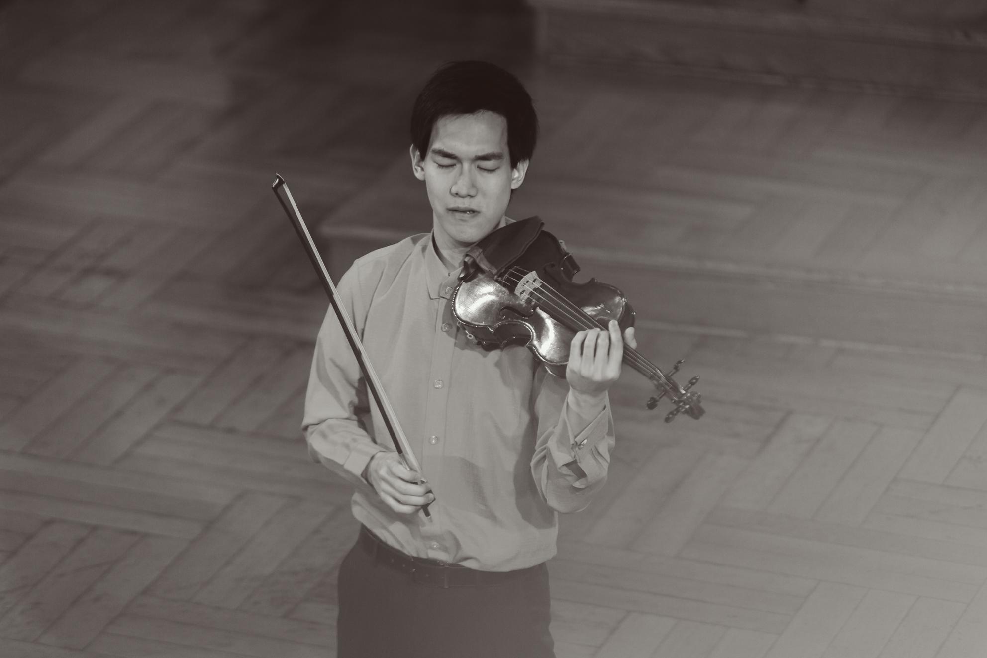 Richard Lin (TajwanUSA) - Etap 2 - 15. Międzynarodowy Konkurs Skrzypcowy im. H. Wieniawskiego BINAURAL | na słuchawki