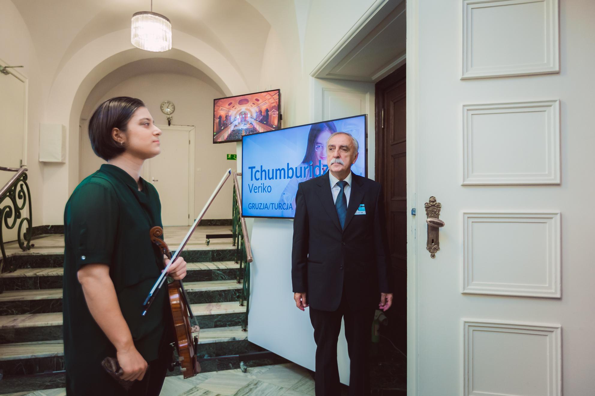 Veriko Tchumburidze (Gruzja/Turcja) - Etap 2 - 15. Międzynarodowy Konkurs Skrzypcowy im. H. Wieniawskiego BINAURAL | na słuchawki