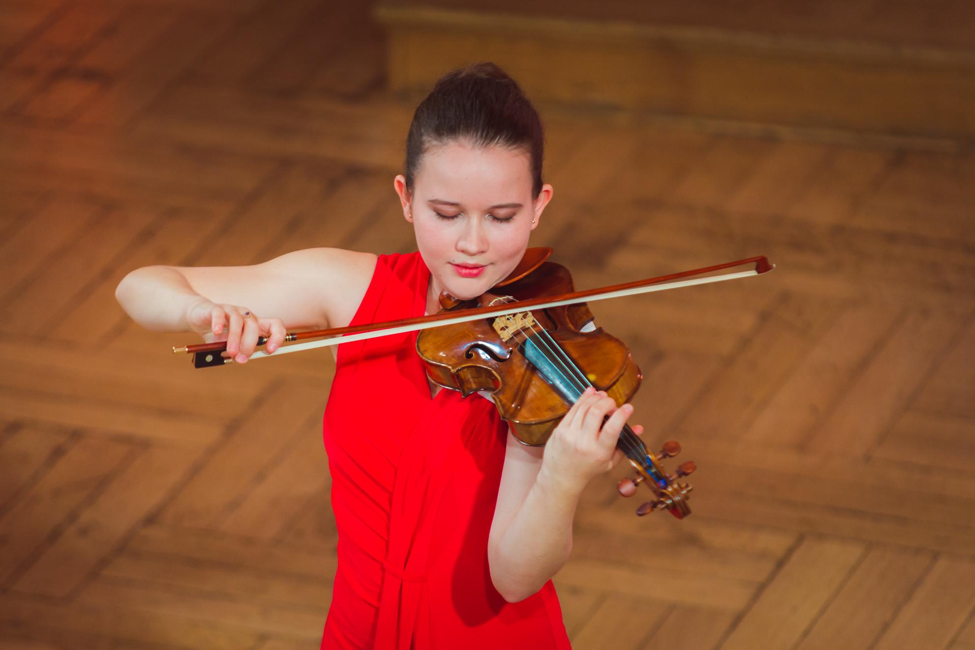 Maria Kouznetsova (Rosja/Francja) - Etap 2 - 15. Międzynarodowy Konkurs Skrzypcowy im. H. Wieniawskiego STEREO