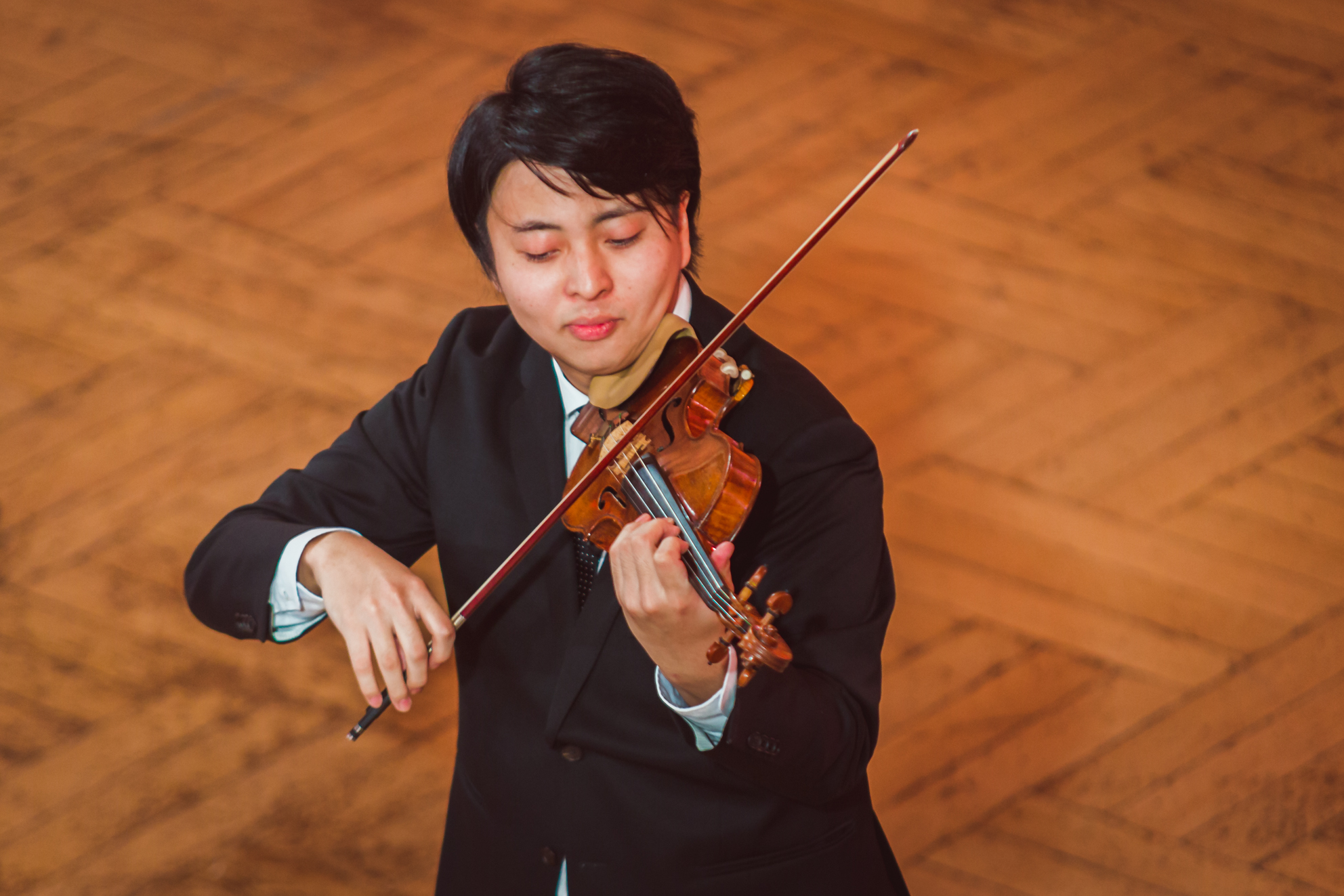 Seiji Okamoto (Japan) - Stage 2 - 15th International H. Wieniawski Violin Competition STEREO