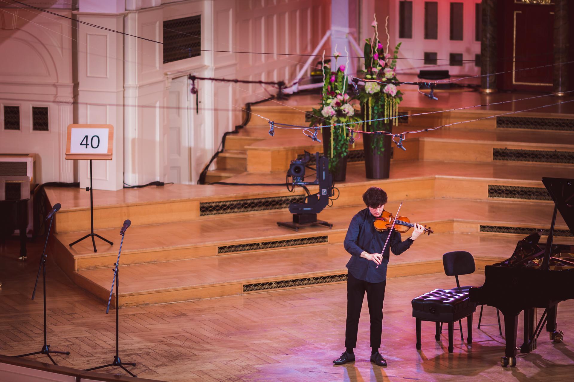 Alexis Roussine (France) - Stage 1 - 15th International H. Wieniawski Violin Competition BINAURAL | use headphones