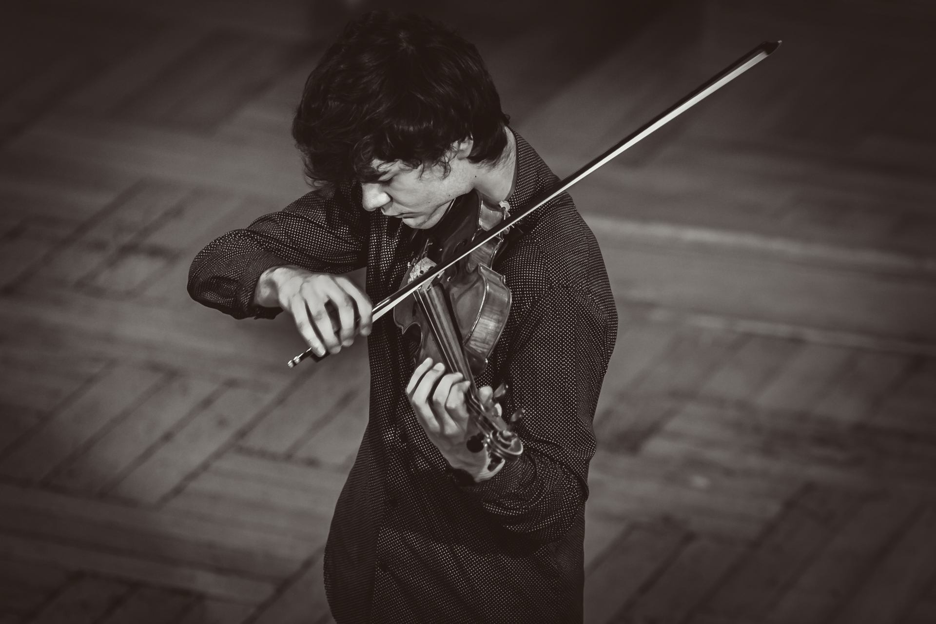 Alexis Roussine (France) - Stage 1 - 15th International H. Wieniawski Violin Competition STEREO