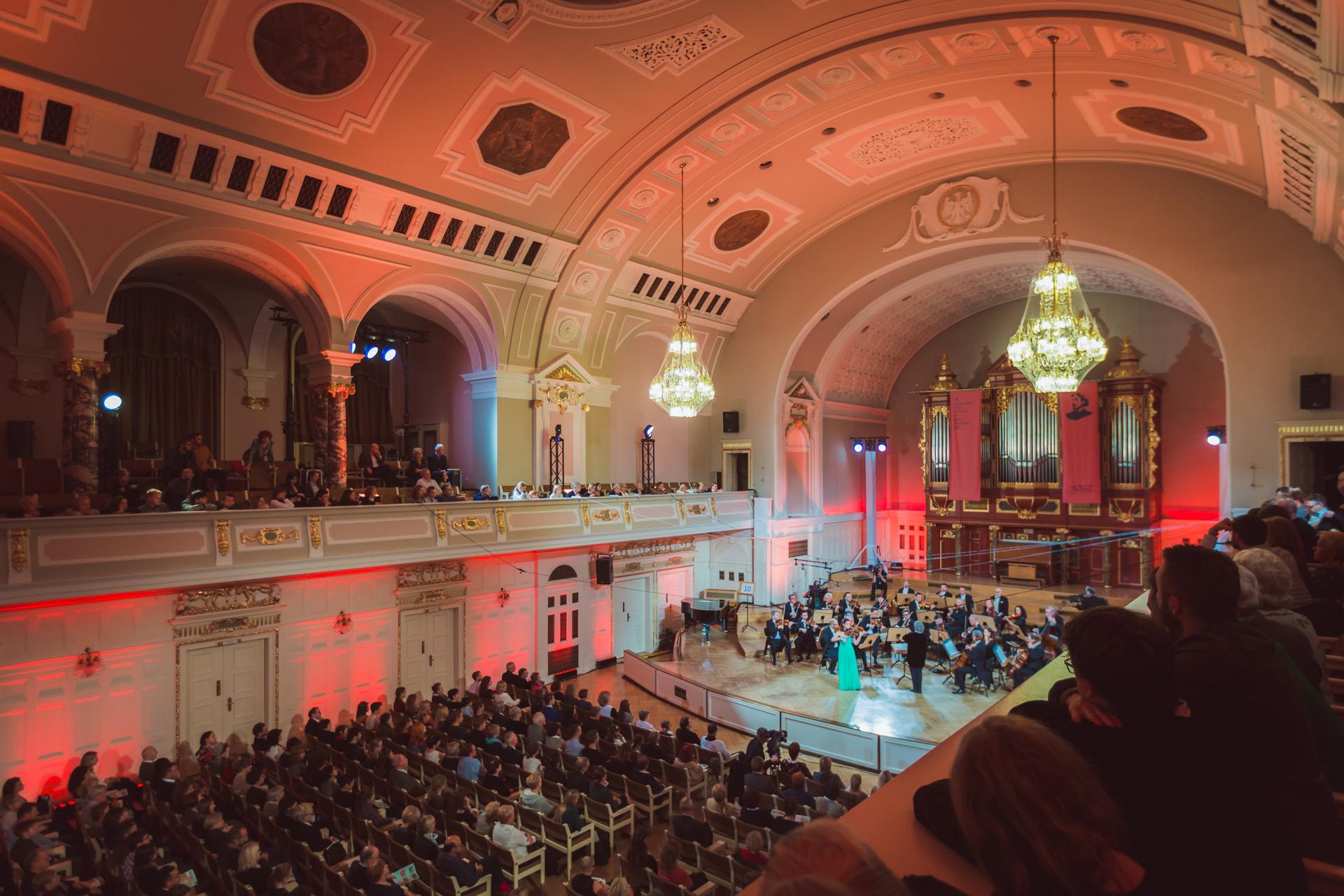 Amalia Hall (Nowa Zelandia) - Etap 3 - 15. Międzynarodowy Konkurs Skrzypcowy im. H. Wieniawskiego BINAURAL   na słuchawki