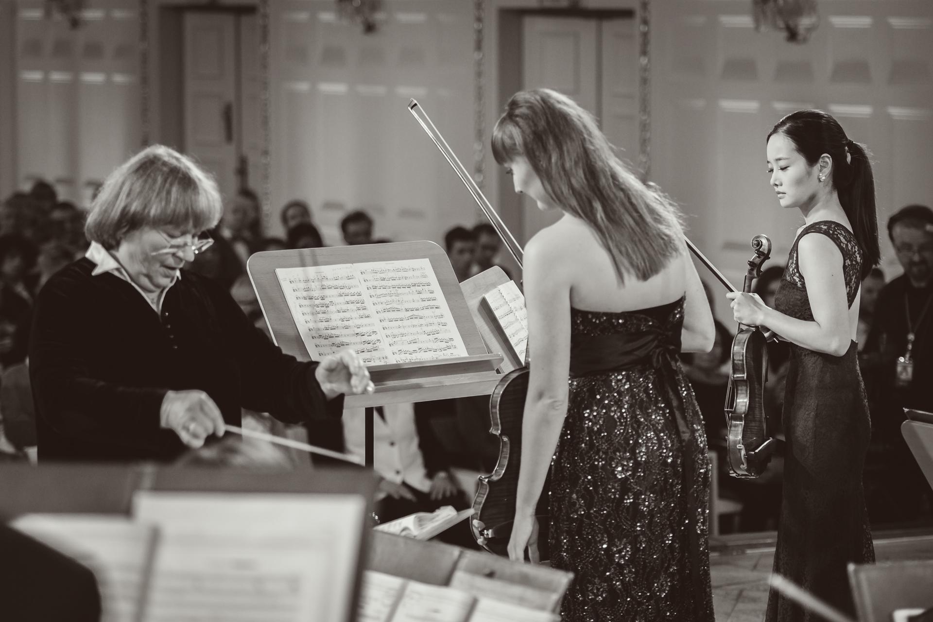RR Studio. Bomsori Kim, Katarzyna Budnik-Gałązka, Orkiestra Polskiego Radia Amadeus pod dyr. Agnieszki Duczmal