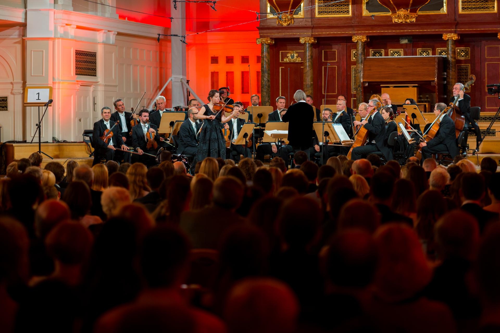 RR Studio. Hanna Asieieva (Ukraina), Orkiestra Polskiego Radia Amadeus pod dyr. Agnieszki Duczmal