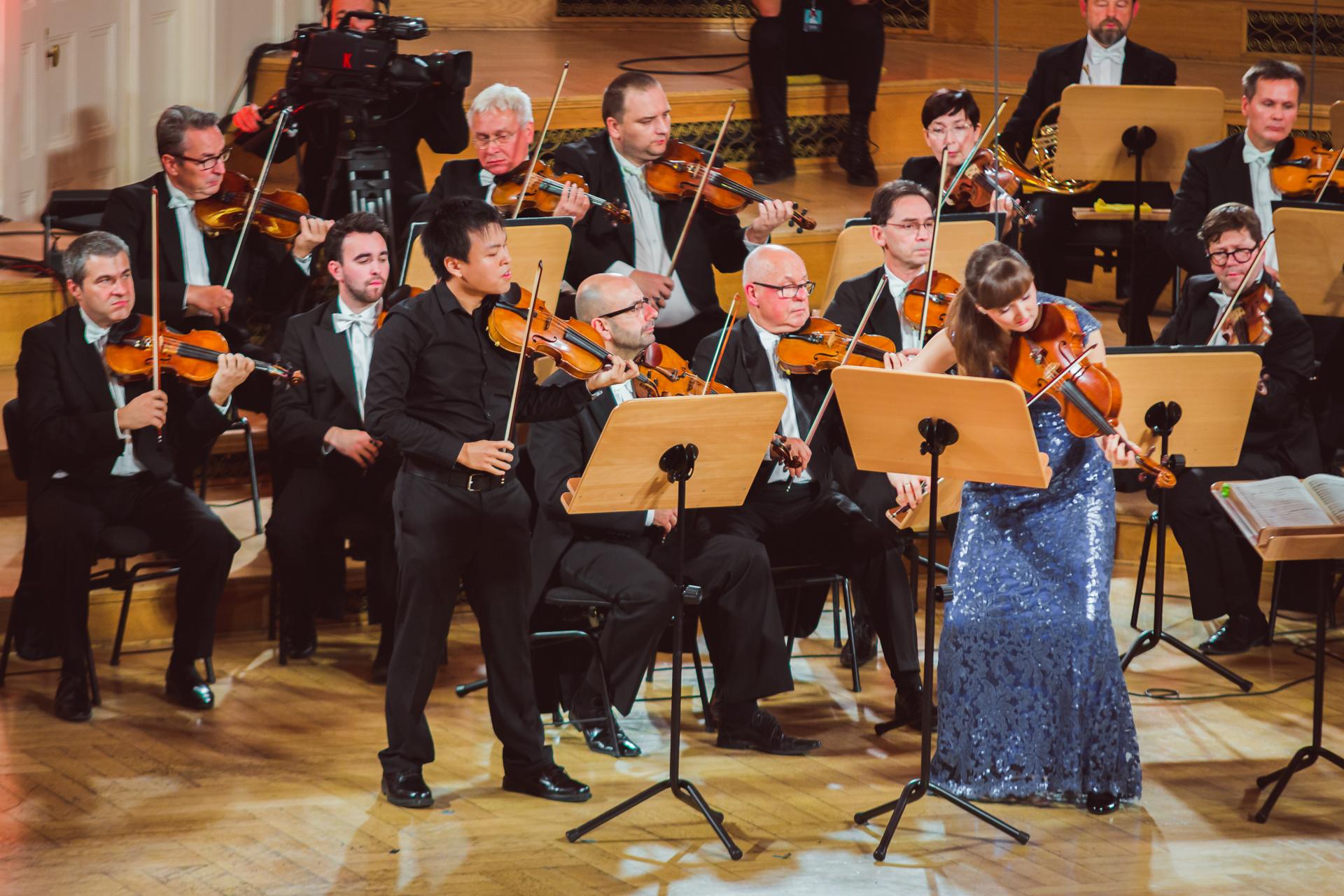 RR Studio. Luke Hsu (USA), Katarzyna Budnik-Gałązka, Orkiestra Polskiego Radia Amadeus pod dyr. Agnieszki Duczmal