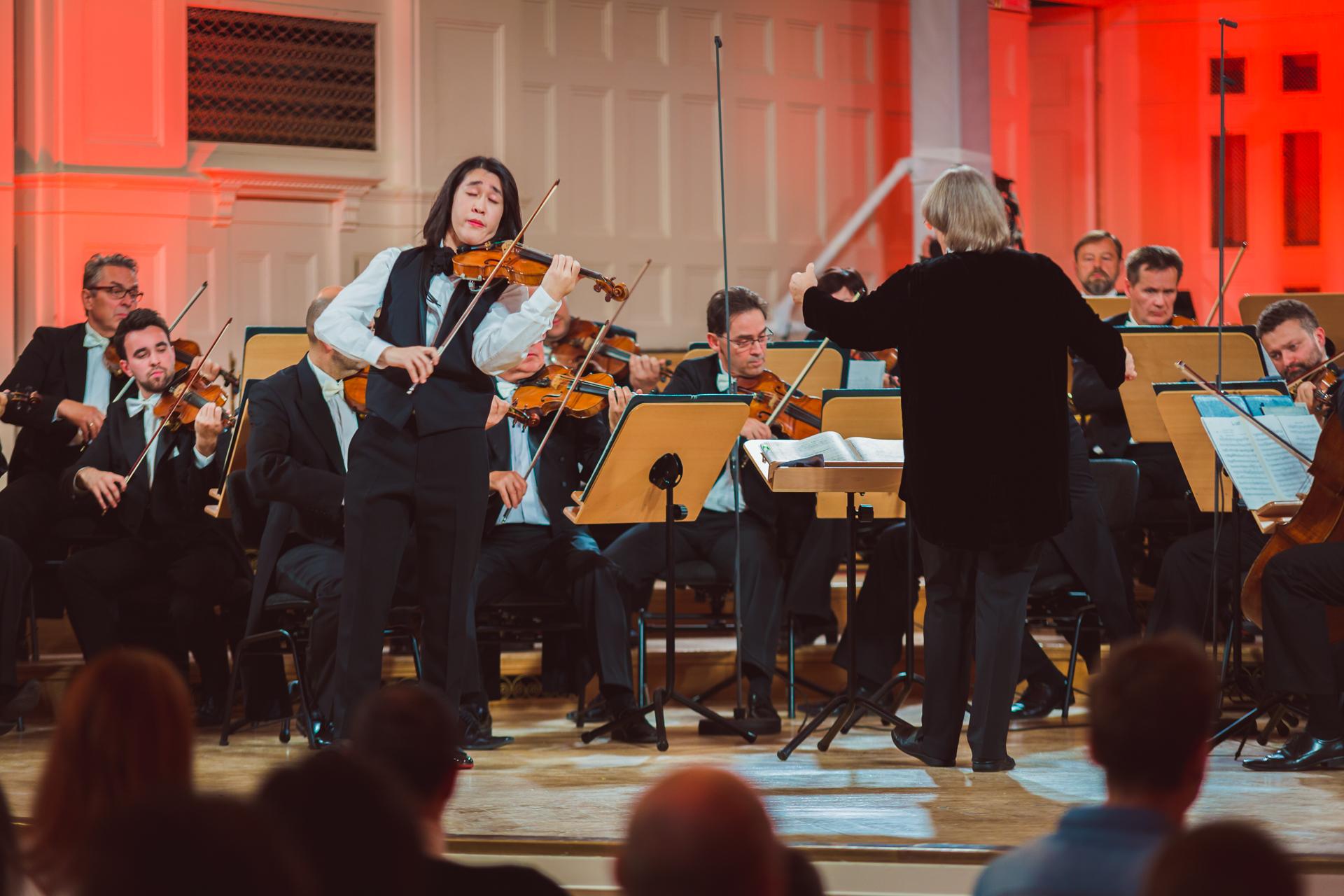 RR Studio. Ryosuke Suho (Japonia), Orkiestra Polskiego Radia Amadeus pod dyr. Agnieszki Duczmal