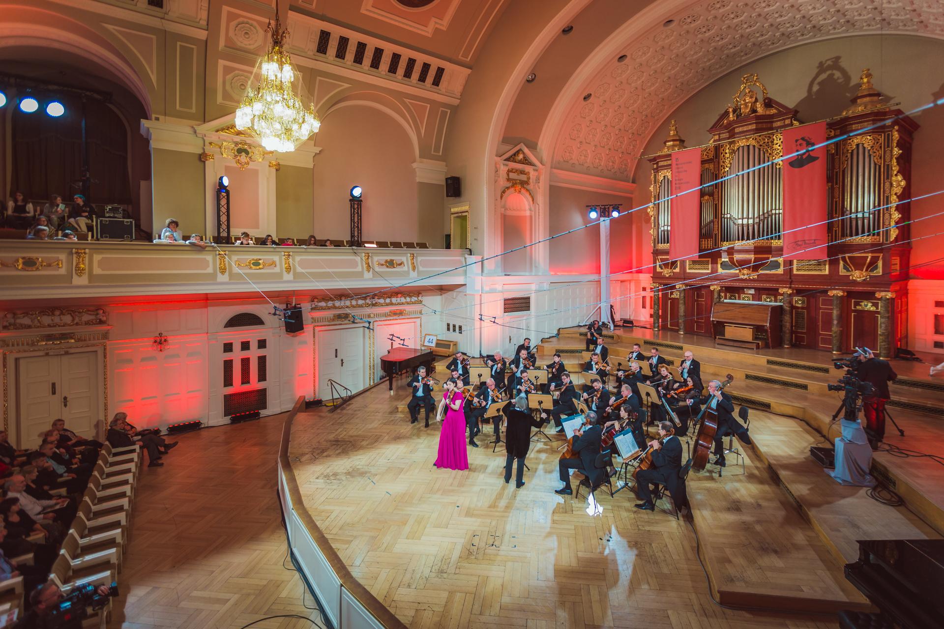 Veriko Tchumburidze zagrała w Poznaniu z Orkiestrą Kameralną Polskiego Radia Amadeus (27.11.2016)